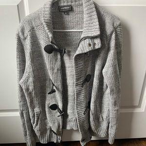 Men's Express Cardigan Sweater Size Large